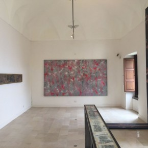 """04 Exhibition View of Paining the Present 290x290 - The group show """"Painting the Present"""" dedicated to contemporary painting, opens September 5 at Certosa di San Giacomo"""