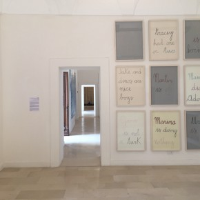 """05 Exhibition View of Paining the Present 290x290 - The group show """"Painting the Present"""" dedicated to contemporary painting, opens September 5 at Certosa di San Giacomo"""