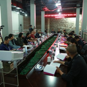 "05 View of the review meeting  290x290 - 2015 ""Zeng Zhushao Sculpture Art Fellowship"" National Academies Excellent Sculpture Exhibition opened"