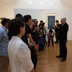 "05 Xu Lei addressed the opening ceremony 290x290 - Xu Lei's Solo Exhibition ""Fugue"" opened at Suzhou Museum"