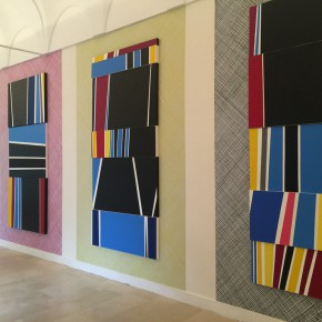 """06 Exhibition View of Paining the Present 290x290 - The group show """"Painting the Present"""" dedicated to contemporary painting, opens September 5 at Certosa di San Giacomo"""