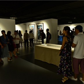 06 Installation view of the exhibition 290x290 - Pattern · Style – the First Chinese Painting Exhibition for the Ph.D. students opened at the Rhythm Art Museum