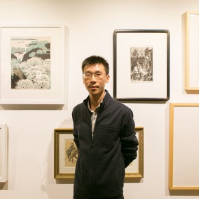"""07 Academic Chair of the exhibition Sheng Wei 290x290 - """"Print Summit – The Communication Exhibition of Print Works by Artists from the East and the West"""" opened at the Gauguin Gallery"""