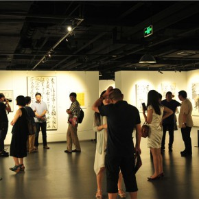 07 Installation view of the exhibition 290x290 - Pattern · Style – the First Chinese Painting Exhibition for the Ph.D. students opened at the Rhythm Art Museum