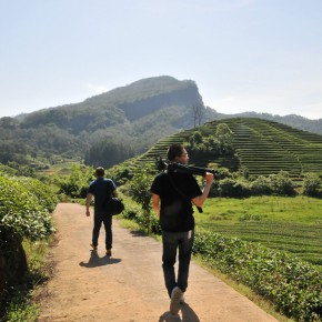 """07 On the Tea Road of Filming Xingcun Wuyishan 290x290 - Guangdong Times Museum announces """"Projects of the Hinterland Project: Shi Qing Solo Exhibition"""" opens September 26"""