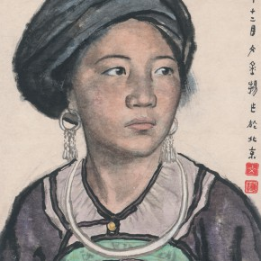 08 Wen Jinyang A Woman of Yi Nationality 1963 oil painting 45.5×32cm 290x290 - Expert in the Principles of Art: the Exhibition in Celebration of the 100th Birthday of Mr. Wen Jinyang Opening at CAFA Art Museum