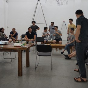 """09 Seminar of Discussions at Organhaus Art Space 290x290 - Guangdong Times Museum announces """"Projects of the Hinterland Project: Shi Qing Solo Exhibition"""" opens September 26"""