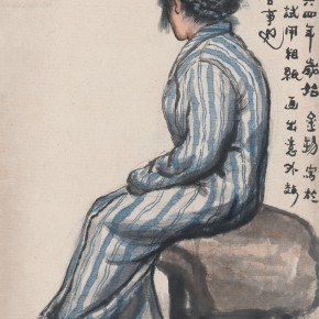 09 Wen Jinyang Model Dressed in Pajamas 54.5×41.5cm 290x290 - Expert in the Principles of Art: the Exhibition in Celebration of the 100th Birthday of Mr. Wen Jinyang Opening at CAFA Art Museum