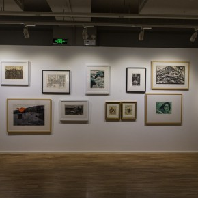 """10 Exhibition view of """"Print Summit""""  290x290 - """"Print Summit – The Communication Exhibition of Print Works by Artists from the East and the West"""" opened at the Gauguin Gallery"""