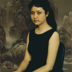 "10 Jin Shangyi A Young Woman Singer oil on canvas 74 x 54 cm 1984 collected by CAFA Art Museum 290x290 - ""The Temperature of History: CAFA and Chinese Representational Oil Paintings"" opening at the Ancestral Temple Art Gallery"