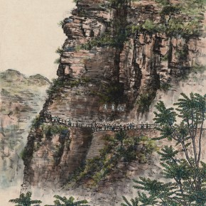 11 Wen Jinyang Youth Cave 47×34.5cm 290x290 - Expert in the Principles of Art: the Exhibition in Celebration of the 100th Birthday of Mr. Wen Jinyang Opening at CAFA Art Museum