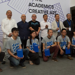 "12 Group photo of the winners and honored guests 290x290 - ""Original Creative Art 2015 by the Academics"" opened: Focusing on the Creative State of the Art Students"