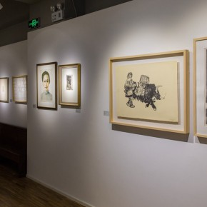 """13 Exhibition view of """"Print Summit"""" 290x290 - """"Print Summit – The Communication Exhibition of Print Works by Artists from the East and the West"""" opened at the Gauguin Gallery"""