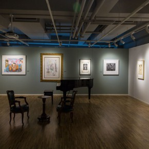 """14 Exhibition view of """"Print Summit"""" 290x290 - """"Print Summit – The Communication Exhibition of Print Works by Artists from the East and the West"""" opened at the Gauguin Gallery"""