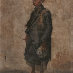 15 Wen Jinyang. Beggar Oil painting 57×40.5cm 290x290 - Expert in the Principles of Art: the Exhibition in Celebration of the 100th Birthday of Mr. Wen Jinyang Opening at CAFA Art Museum