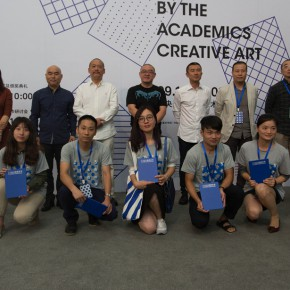 "18 Group photo of the winners and honored guests  290x290 - ""Original Creative Art 2015 by the Academics"" opened: Focusing on the Creative State of the Art Students"