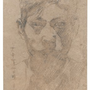 21 Wen Jinyang Self portrait 3 April 192815.5×10cm 290x290 - Expert in the Principles of Art: the Exhibition in Celebration of the 100th Birthday of Mr. Wen Jinyang Opening at CAFA Art Museum