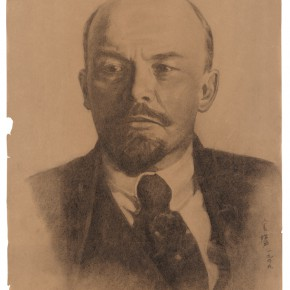 22 Wen Jinyang Portrai of Lenin 63.5×46cm 290x290 - Expert in the Principles of Art: the Exhibition in Celebration of the 100th Birthday of Mr. Wen Jinyang Opening at CAFA Art Museum