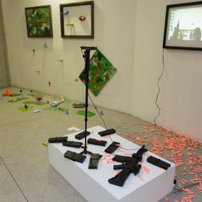 "23 Exhibition view of ""Original Creative Art 2015 by the Academics"" 290x290 - ""Original Creative Art 2015 by the Academics"" opened: Focusing on the Creative State of the Art Students"