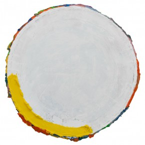 "24 Ma Shuqing Untitled oil on canvas diameter 85 cm 2013 2015 290x290 - ""How to Make a Sexy Painting: Ma Shuqing 2015"" opened at Inside-Out Art Museum"