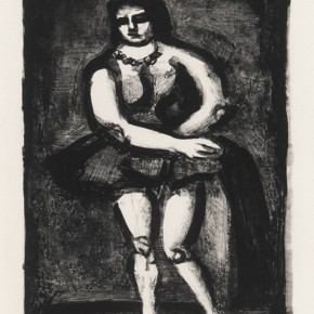 """25 Georges Rouault Dancer 290x290 - """"Print Summit – The Communication Exhibition of Print Works by Artists from the East and the West"""" opened at the Gauguin Gallery"""