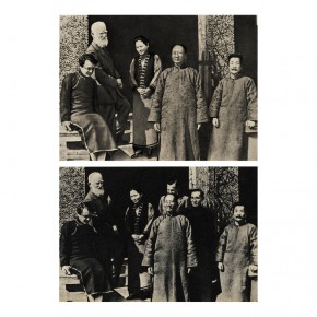 "25 Zhang Dali February 17th 1933 Lu Xun welcoming the English Writer George Bernard Shaw in Shanghai 290x290 - The United Art Museum presents ""From Reality to Extreme Reality – The Road of Zhang Dali"" in Wuhan"