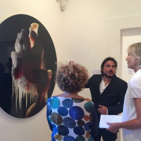 """27 The Opening of""""Painting the Present"""" 290x290 - The group show """"Painting the Present"""" dedicated to contemporary painting, opens September 5 at Certosa di San Giacomo"""