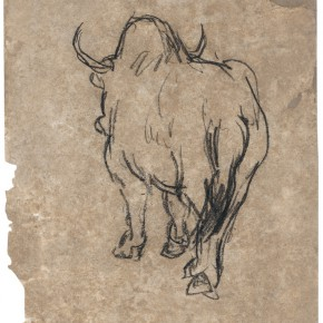 28 Wen Jinyang White Yak 26×17cm 290x290 - Expert in the Principles of Art: the Exhibition in Celebration of the 100th Birthday of Mr. Wen Jinyang Opening at CAFA Art Museum