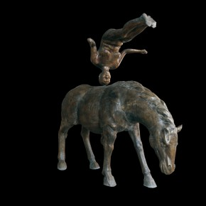 "31 Flying on a Horsebronze 235X60X218cm2007 5 290x290 - The United Art Museum presents ""From Reality to Extreme Reality – The Road of Zhang Dali"" in Wuhan"
