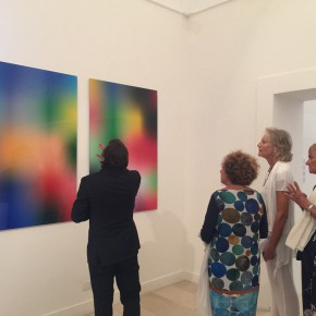 """31 The Opening of""""Painting the Present"""" 290x290 - The group show """"Painting the Present"""" dedicated to contemporary painting, opens September 5 at Certosa di San Giacomo"""