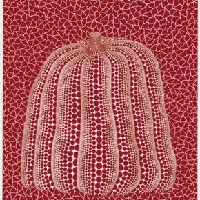 """38 Yayoi Kusama Pumpkin 290x290 - """"Print Summit – The Communication Exhibition of Print Works by Artists from the East and the West"""" opened at the Gauguin Gallery"""