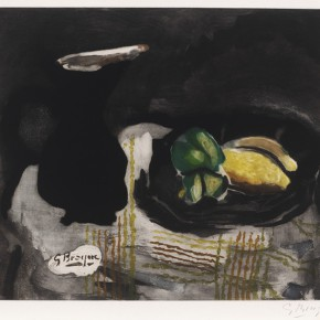 """39 Georges Braque Pichet noir et citrons 290x290 - """"Print Summit – The Communication Exhibition of Print Works by Artists from the East and the West"""" opened at the Gauguin Gallery"""
