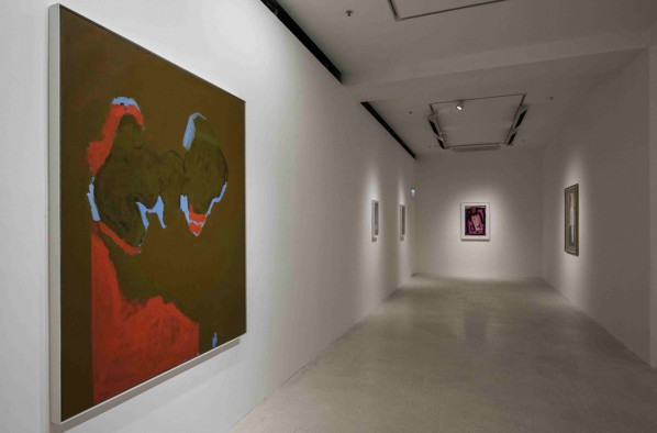 'Form, Gesture, Feeling: Robert Motherwell 1915-1991.. A Centennial Exhibition' show, at the Pearl Lam Galleries in Hong Kong