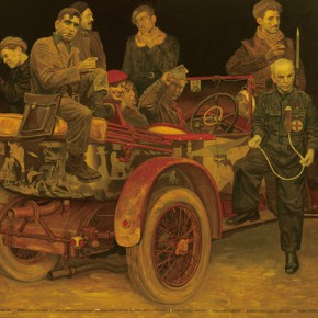 Shen Jiawei Spain 1937 Oil painting 220x300cm 290x290 - Memory and Dream: The 6th China Beijing International Art Biennial Opening September 24 at NAMOC