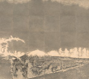 01 Su Xinping The Wasteland 2015 pencil on paper 280×1120cm 290x256 - Landscapes with Ritualistic Practices: Su Xinping Solo Exhibition Opening October 18 at Guangdong Museum of Art