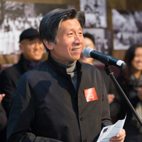 "02 President of CAFA Fan Dian addressed the opening ceremony  290x290 - Reviewing the History While Looking into the Future: ""Life after Stepping out of Xiaowei"" Art Exhibition Unveiled at CAFA"