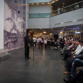 """02 The opening of Landscapes with Ritualistic Practices Su Xinping Solo Exhibition 290x290 - Dialogue with Time and Space: Su Xinping's """"Landscapes with Ritualistic Practices"""" Unveiled at Guangdong Museum of Art"""