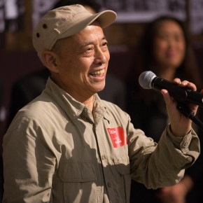 "03 Sun Jingbo the former Director of the Department of Mural Painting CAFA addressed the opening ceremony 290x290 - Reviewing the History While Looking into the Future: ""Life after Stepping out of Xiaowei"" Art Exhibition Unveiled at CAFA"