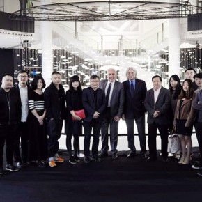 "04 Group photo of the honored guests and the exhibition team 290x290 - ""Simulation: Moving Pictures – Solo Exhibition of Huang Jiancheng"" opened at the BMW Center in Germany"