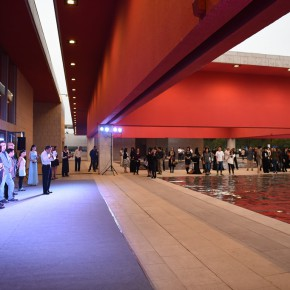 """05 Opening ceremony of the exhibition 290x290 - What is """"Nothing for the Time Being""""?–Zhan Wang's Solo Exhibition is Unveiled at Shanghai Pujiang OCT"""
