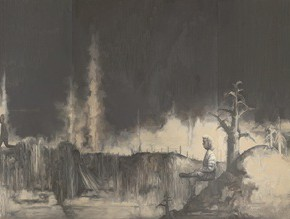 08 Su Xinping Landscape 2007 Oil on canvas 300×1400cm 290x219 - Landscapes with Ritualistic Practices: Su Xinping Solo Exhibition Opening October 18 at Guangdong Museum of Art