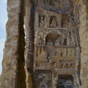 09 Ding Yilin, Yungang Grottoes, 80 x 60 cm, 2015