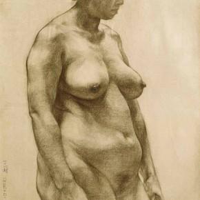 108 Ding Yilin, Study of Human Body No.8, 79 x 110 cm, 1986