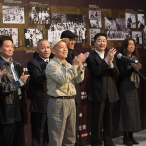 "11 View of the opening ceremony  290x290 - Reviewing the History While Looking into the Future: ""Life after Stepping out of Xiaowei"" Art Exhibition Unveiled at CAFA"