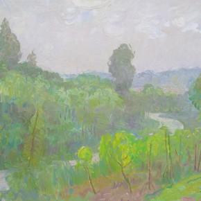 12 Ding Yilin, A Rainy Day, 70 x 55 cm, 2011