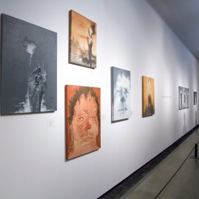 """12 Exhibition View of Landscapes with Ritualistic Practices Su Xinping Solo Exhibition 290x290 - Dialogue with Time and Space: Su Xinping's """"Landscapes with Ritualistic Practices"""" Unveiled at Guangdong Museum of Art"""