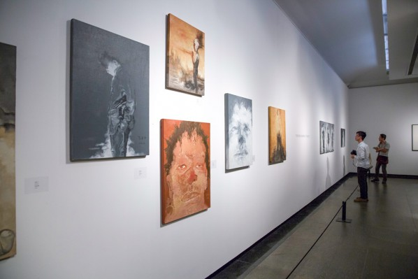12 Exhibition View of Landscapes with Ritualistic Practices Su Xinping Solo Exhibition