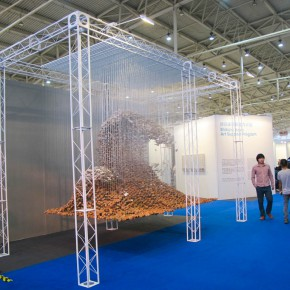 12 Exhibition view of 2015 Art Nova 100 290x290 - 2015 Art Nova 100 Opening Exhibition and its 5th Anniversary Celebration kicked off at National Agriculture Exhibition Center