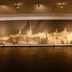 """13 Exhibition View of Landscapes with Ritualistic Practices Su Xinping Solo Exhibition 290x290 - Dialogue with Time and Space: Su Xinping's """"Landscapes with Ritualistic Practices"""" Unveiled at Guangdong Museum of Art"""