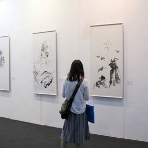 13 Exhibition view of 2015 Art Nova 100 290x290 - 2015 Art Nova 100 Opening Exhibition and its 5th Anniversary Celebration kicked off at National Agriculture Exhibition Center